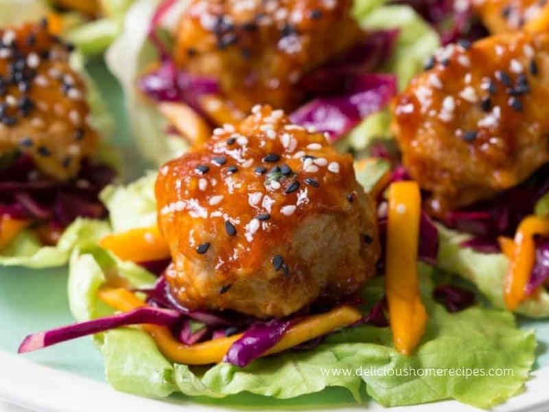 Asian Chicken Meatball