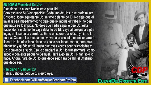Esto lo cambiará a usted - William Branham en Español