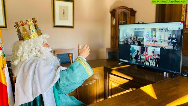 SS.MM. Los Reyes Magos de Oriente eligen Fuencaliente para saludar a los niños y niñas del municipio