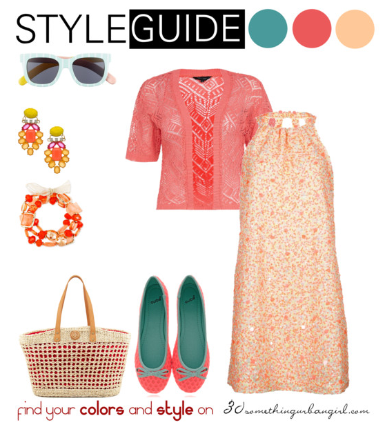 pretty and romantic spring outfit idea for Warm Spring