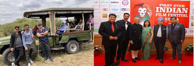 राजू चड्ढा, अर्जुन रामपाल और राहुल मित्रा को केन्या में आयोजित फिल्म महोत्सव में सम्मानित किया गया