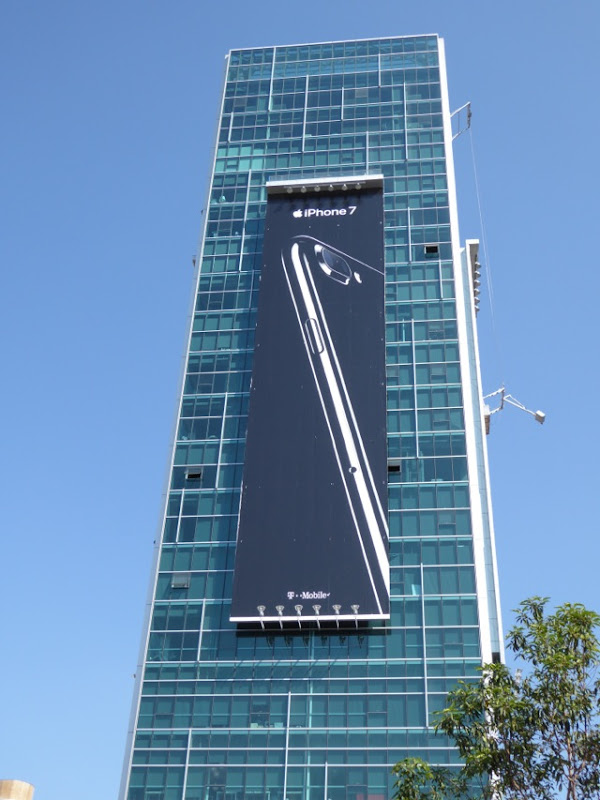 Giant iPhone 7 billboard