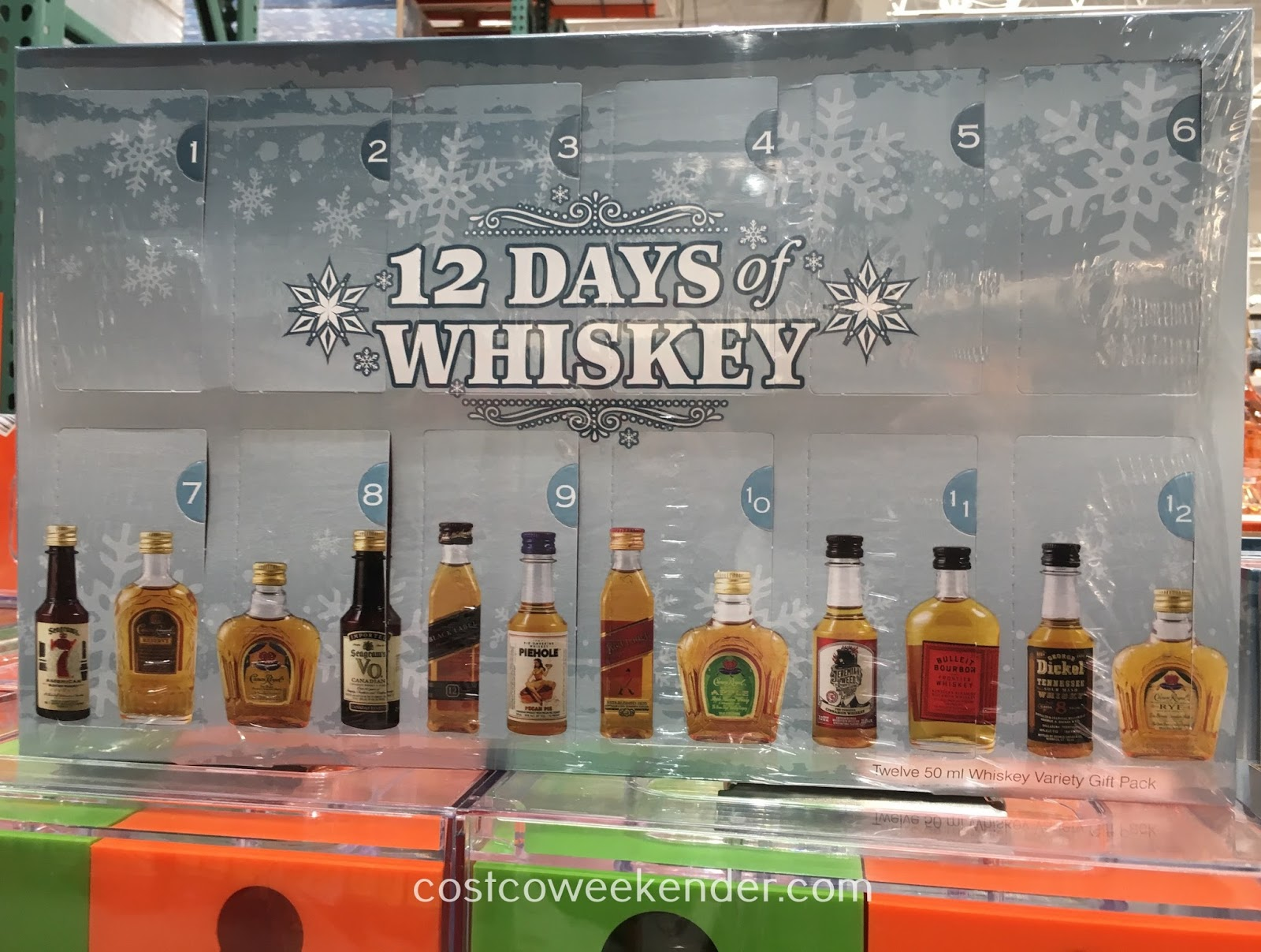 Celebrate the 12 days of Christmas with a different whiskey everyday