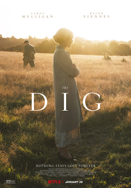 The Dig. 2021. Netflix Film. Anglo Saxon. Sutton Hoo. Archaeology