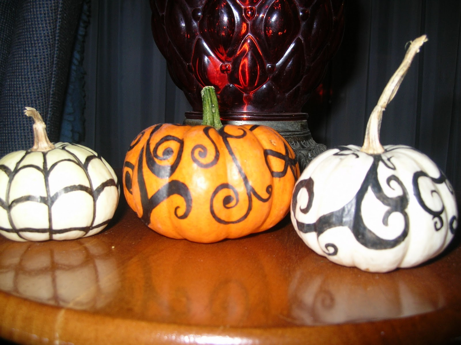 The Lonely Sock Halloween Pumpkin Decorating Project