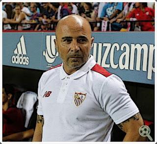 Jorge Sampaoli Sevilla Manager