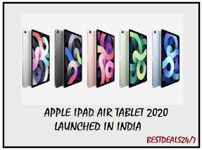 Apple iPad Air 2020 Launched in India