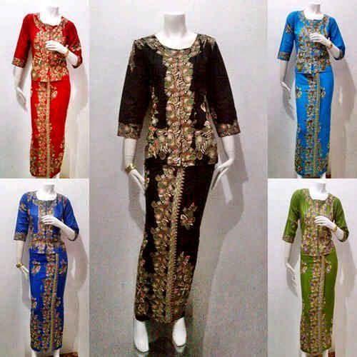 37 Model Baju Batik Pramugari  2019 Video 1000 Model
