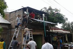 Sepulang Jum'atan Rumah Warga Godong Dilalap Api