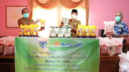 Sambut Ramadhan, Pemkab Batanghari Gelar Pasar Online
