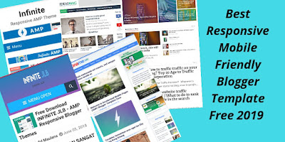 Best Responsive Mobile Friendly Blogger Template Free 2019 | My Technical News