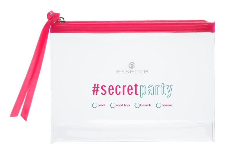 ESSENCE - #secretparty {Mayo 2015} - Cosmetic Bag