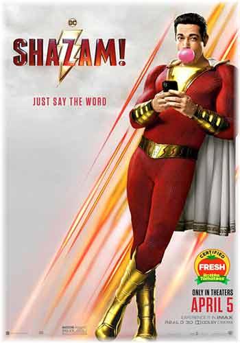 Shazam! 2019 Dual Audio HDCAM 480p 400MB Poster