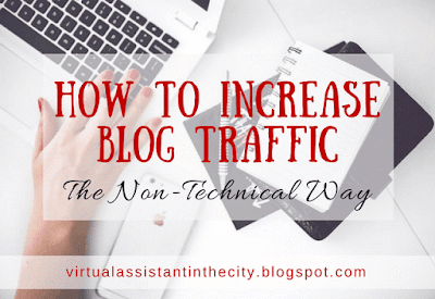 How To Increase Blog Traffic The Non-Technical Way