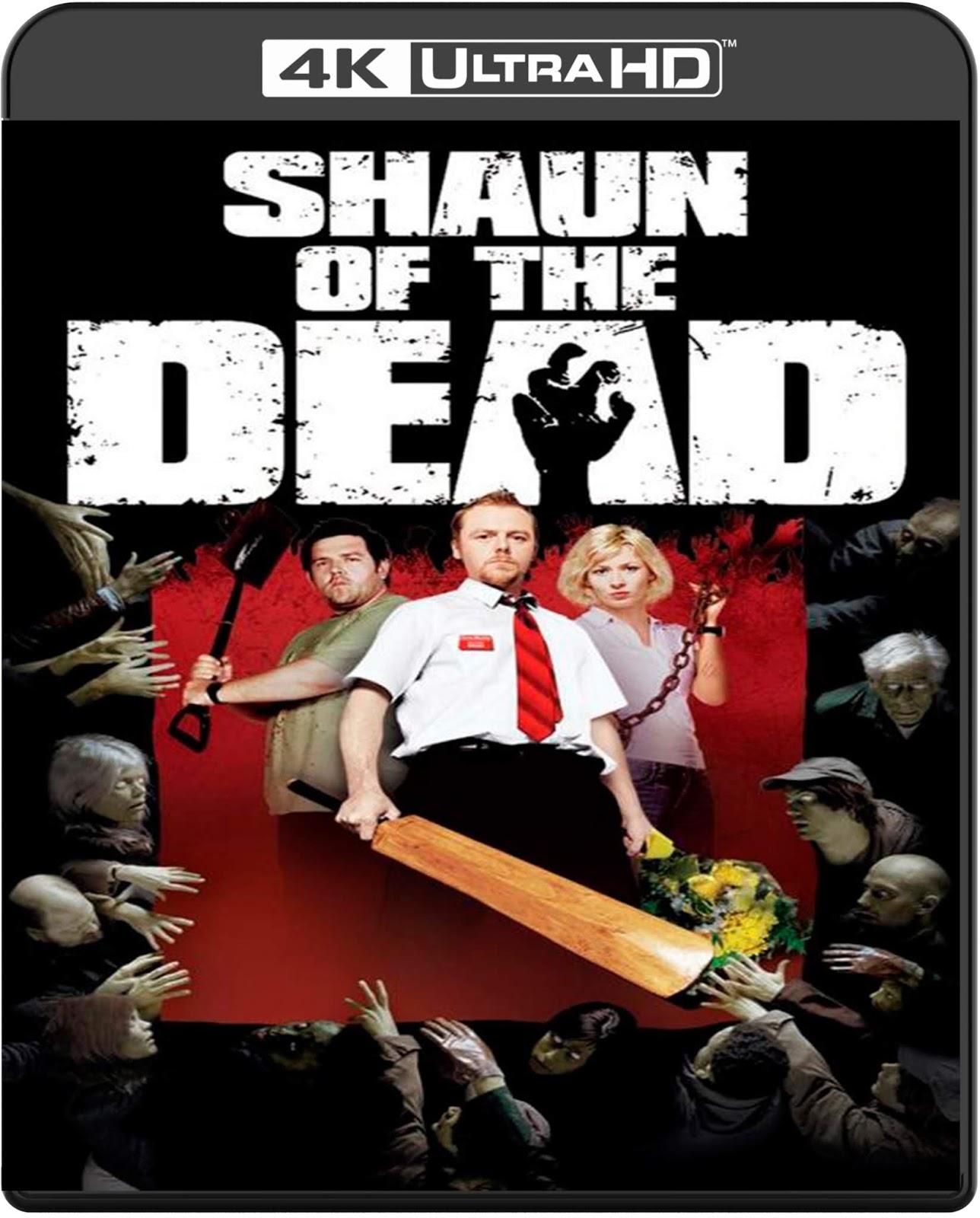 Shaun of the Dead [2004] [UHD] [2160p] [Latino]