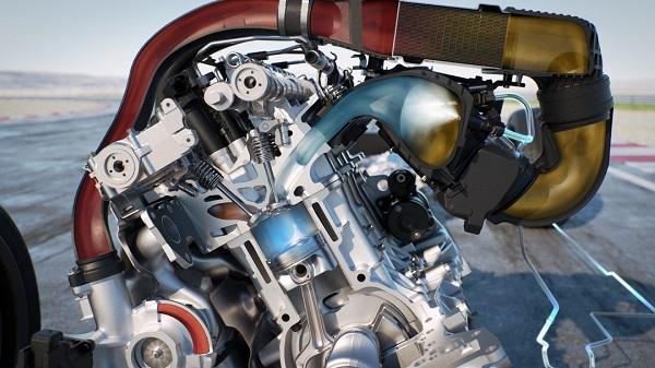 Inyección de agua BMW