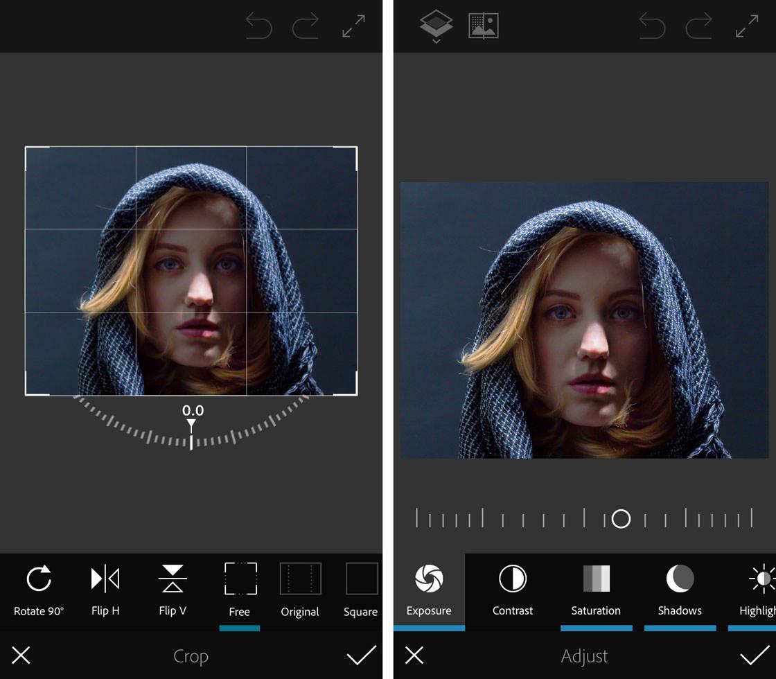 أفضل 5 تطبيقات لتحرير الصور لنظامي التشغيل iOS و Android