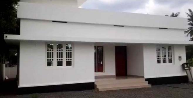 Extremely Low Budget 3 Bedroom Home Design In 753 Sqft