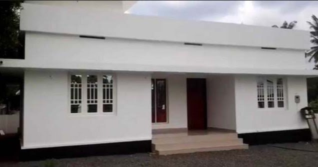 Extremely Low Budget 3 Bedroom Home Design In 753 Sqft With Plan Free Kerala Home Plans