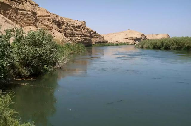Gambar sungai efrat