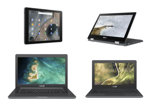 CES 2019: ASUS reveals Chromebook C204, Chromebook C403, Chromebook Flip C214 convertible and Chromebook Tablet CT100
