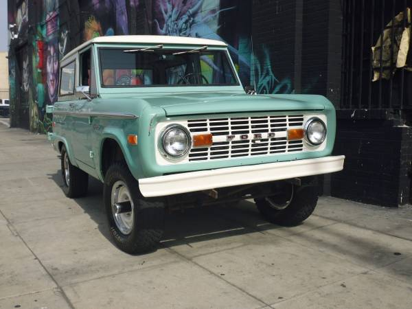 Unmodified, 1970 Ford Bronco