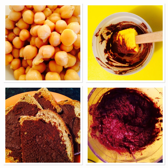 How to make chocolate hummus