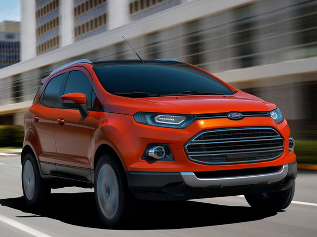 Ford Fiesta Hatchback >> Ford Cars: Ford Ecosport 2013