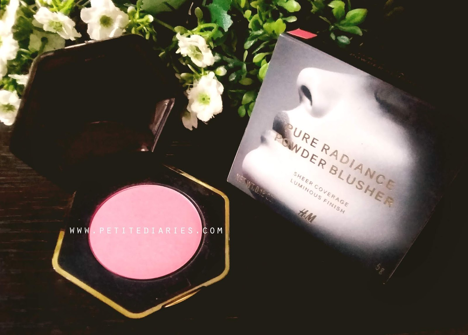 review H&M powder blusher