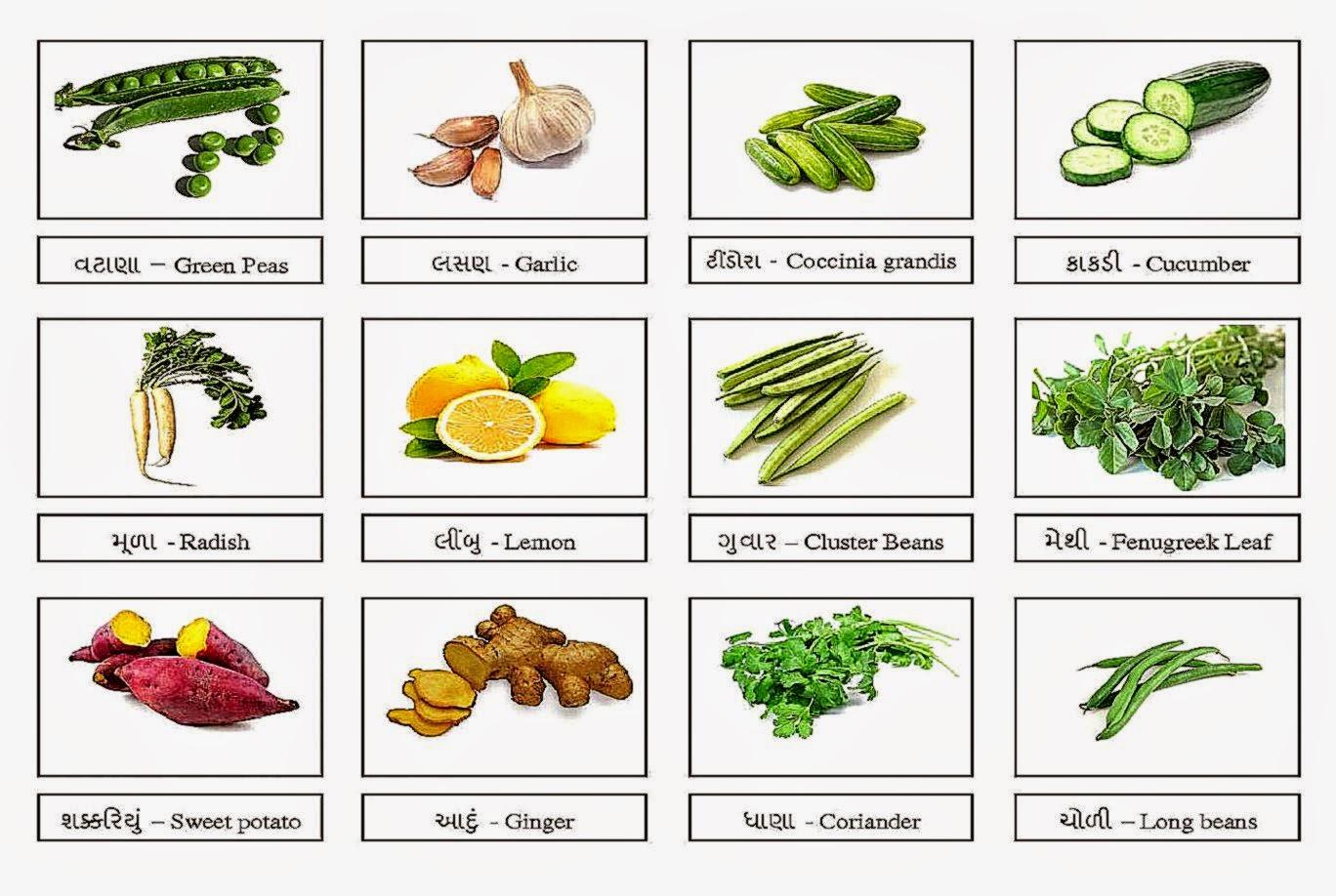 Vegetable Names | Amazing Wallpapers | 1368 x 918 jpeg 196kB