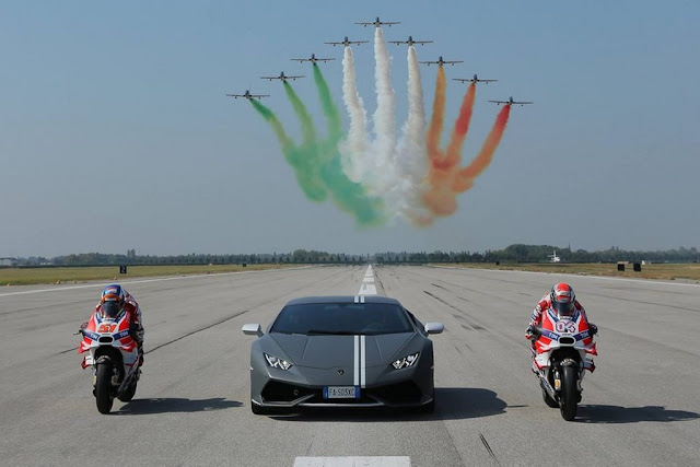 Frecce Tricolori World Ducati Week Misano