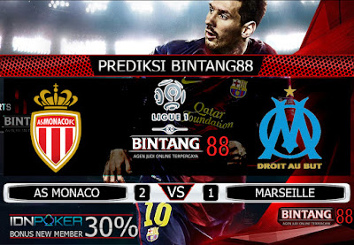 PREDIKSI AS MONACO VS MARSEILLE 16 SEPTEMBER 2019