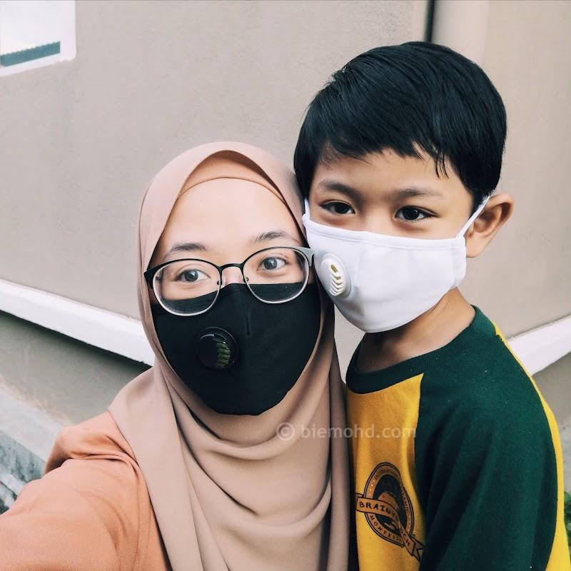 Selesa ke Sekolah dan Pejabat dengan Lunavie Air Face Mask