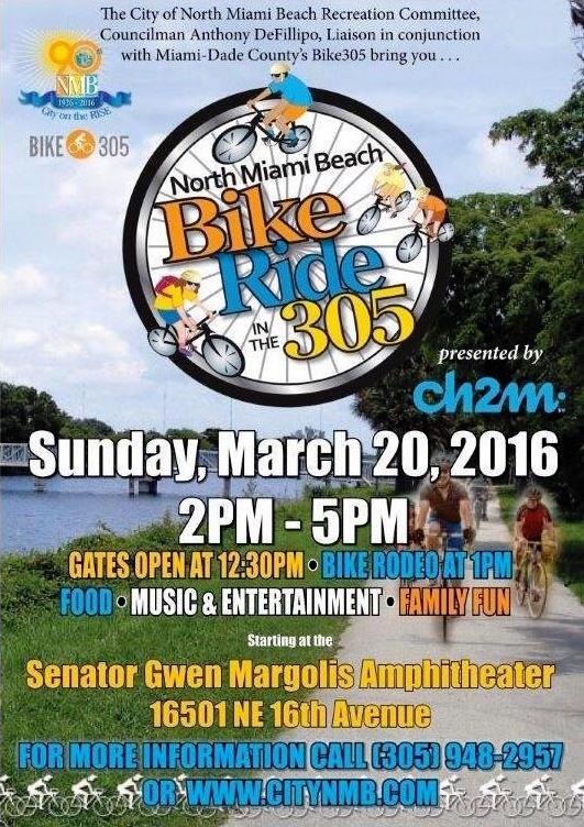 North Miami Beach Bike Ride In The 305
