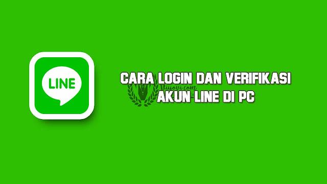 memakai akun line di PC