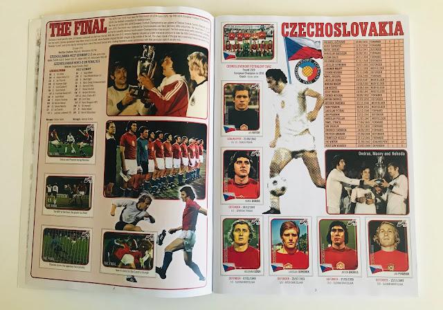 Figurine Cecoslovacchia Euro 76