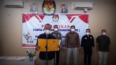 Ketua KPU Labuhanbatu Melantik Anggota PPK dan PPS Terpilih