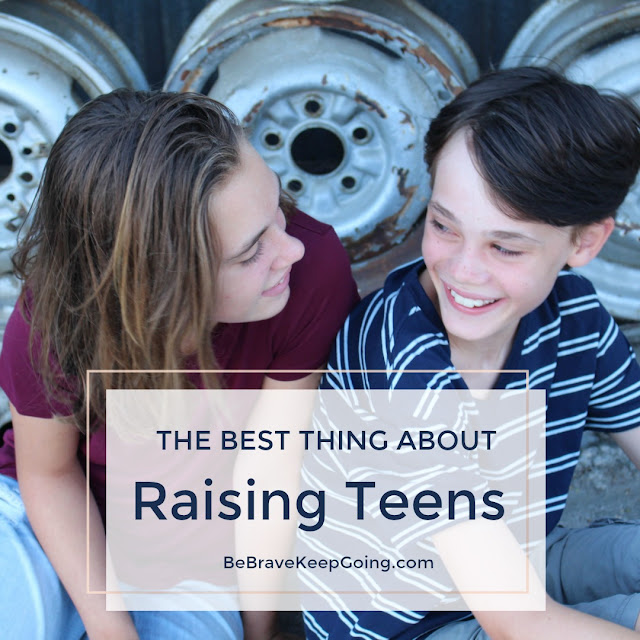 best thing about parenting teens