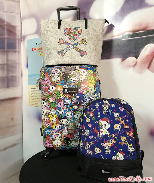 Tokidoki x Guardian Travel Series, Travel Bags, tokidoki, guardian malaysia, lifestyle,