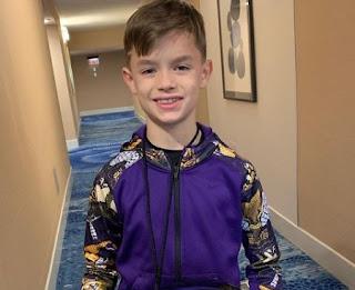 Picture of Drew Brees' son Baylen Robert Brees