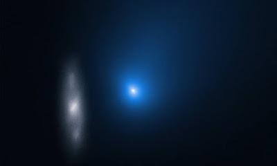 Hubble compartilha novas imagens do cometa 2I / Borisov ...