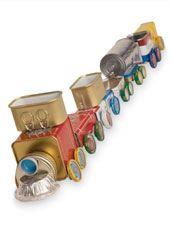 Craft: Tin Can Train