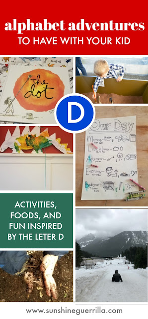 Alphabet Adventures Activities for Kids Inspired by the Letter D