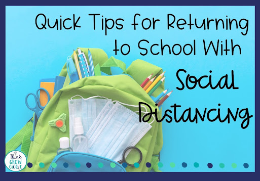 social distance tips for the classroom
