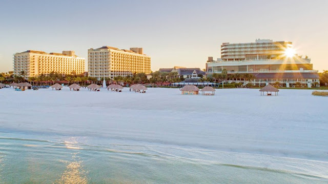 Indulge in a stay at the JW Marriott Marco Island Beach Resort in Florida. Enjoy restaurants, a spa, pools and championship golf at this beachfront hotel.