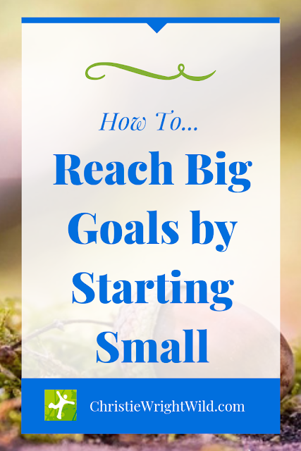 If you want to get published, you can kind of go one of two ways with it. When you start small and keep on writing, bigger things are bound to happen.