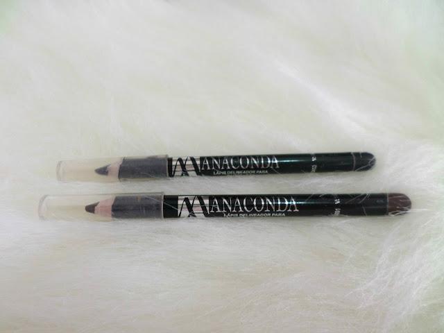 Resenha Lápis de Olho Anaconda preto e marrom