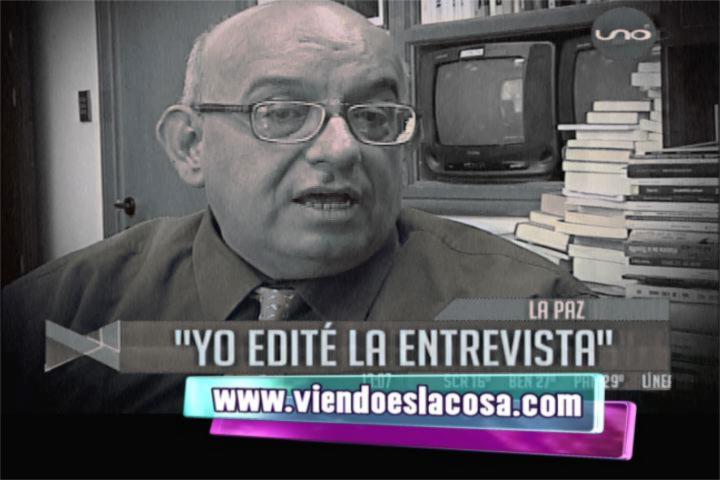 VIDEO: JimmyIturri admite que el edito la entrevista a Gabriela Zapata en ATB
