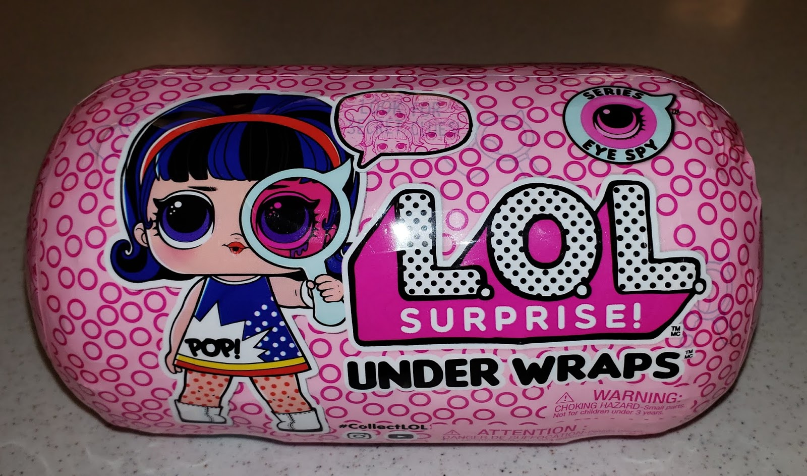 Original Dress clothes outfit  For LOL Surprise Doll Under Wraps 80's B.B DOLL