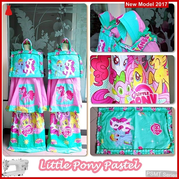 PSMT175A Mukena Untuk Anak Ponny Pastel Size M
